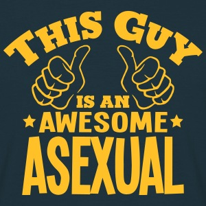 this guy is an awesome asexual - Men's T-Shirt
