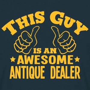 this guy is an awesome antique dealer - Men's T-Shirt