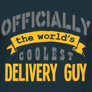 delivery guy officially the worlds coole - T-shirt Homme