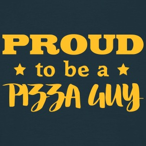 pizza guy proud to be - Men's T-Shirt