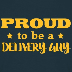 delivery guy proud to be - Men's T-Shirt