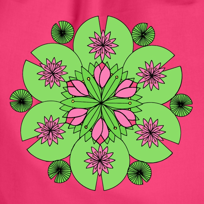 Pond Lotus Mandala