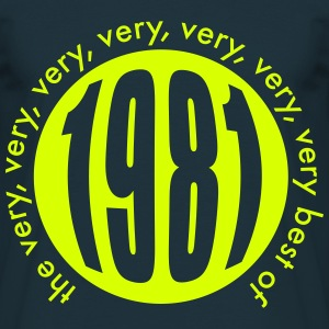 Very very very best of 1981 T-Shirts - Männer T-Shirt