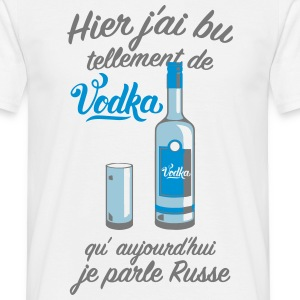 jparle russe Tee shirts - T-shirt Homme