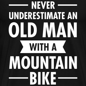 Old Man - Mountain Bike T-shirts - Mannen Premium T-shirt