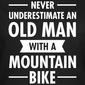 Old Man - Mountain Bike Camisetas - Camiseta mujer