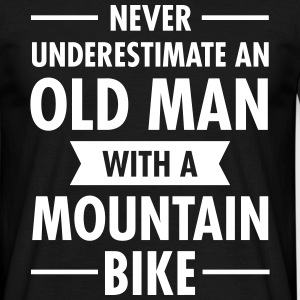 Old Man - Mountain Bike T-shirts - T-shirt herr