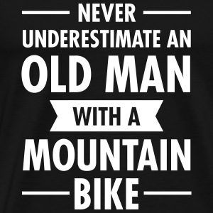 Old Man - Mountain Bike T-shirts - Herre premium T-shirt