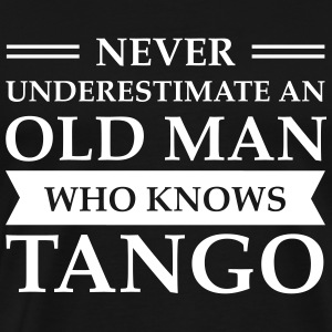 Old Man - Tango T-Shirts - Men's Premium T-Shirt