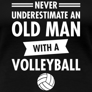 Old Man - Volleyball T-shirts - Vrouwen Premium T-shirt