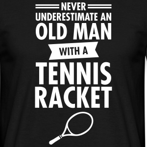 Old Man - Tennis T-Shirts - Männer T-Shirt