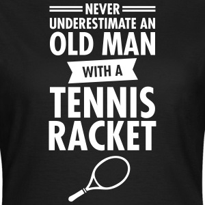 Old Man - Tennis T-skjorter - T-skjorte for kvinner