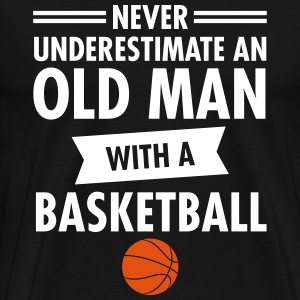 Old Man - Basketball T-Shirts - Männer Premium T-Shirt