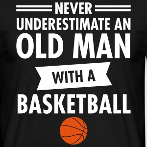 Old Man - Basketball T-shirts - T-shirt herr
