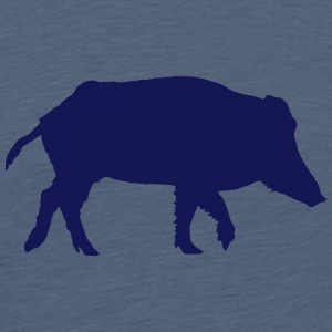Wild boar T-shirts - Teenager premium T-shirt
