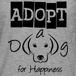 Adopt a Dog Long sleeve shirts - Men's Premium Longsleeve Shirt