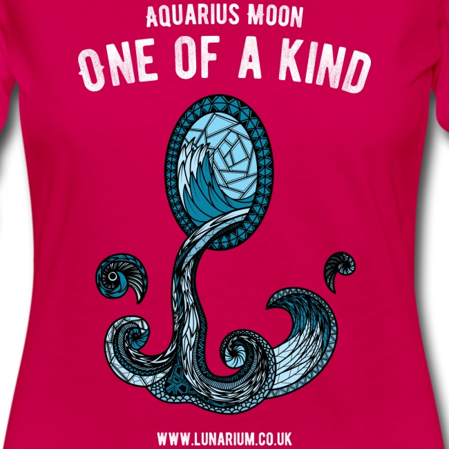 Aquarius Moon Women's Premium Longsleeve Shirt