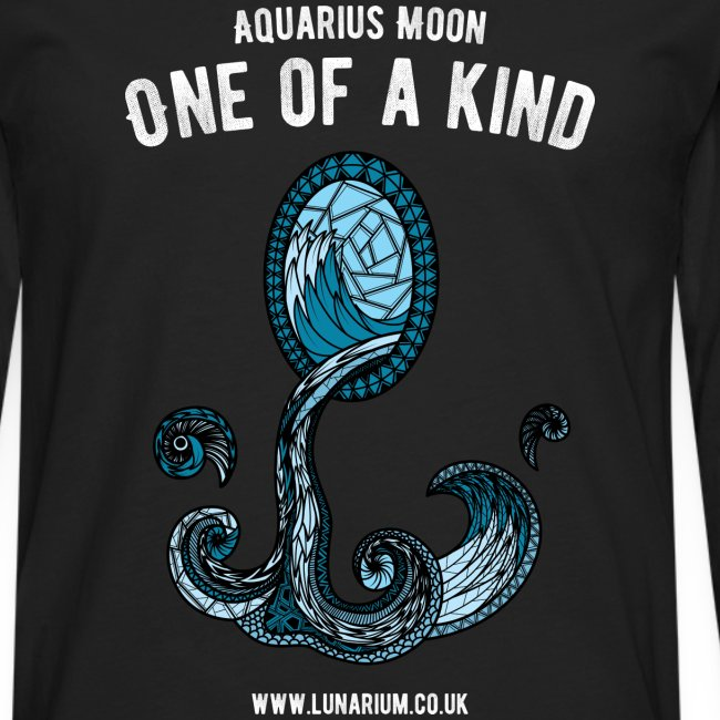 Aquarius Moon Men's Premium Longsleeve Shirt