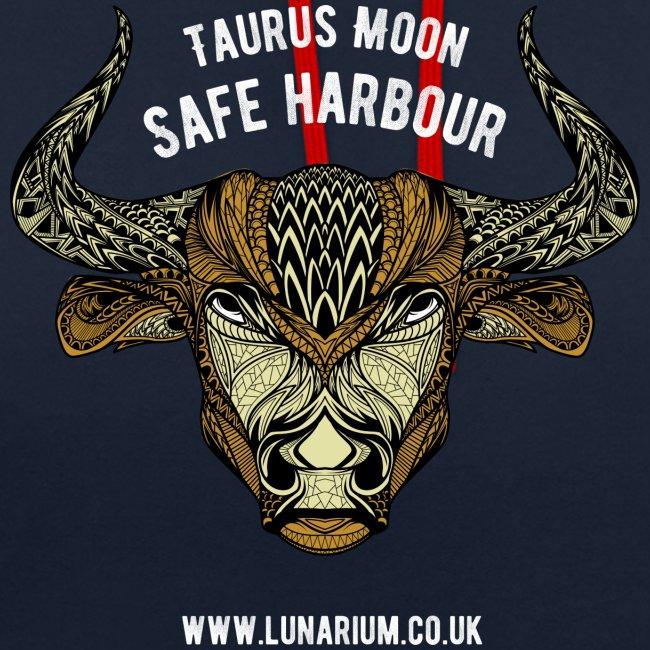 Taurus Moon Contrast Colour Hoodie