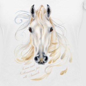 Love and Liberation for all Animals - Vrouwen T-shirt met V-hals