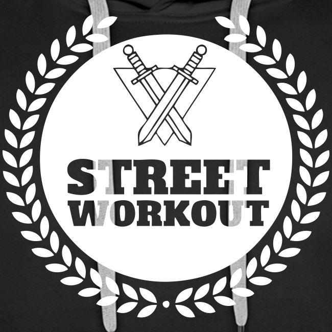 street workout logo hoodie