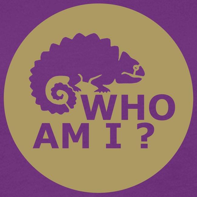Who am I? Frauen-Shirt-Retro