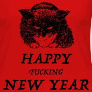 bad cat new year Manches longues - T-shirt manches longues Premium Femme