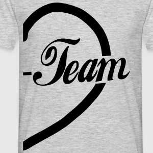 Dream Team-half Heart T-Shirts - Men's T-Shirt