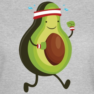 Running Avocado T-shirts - T-shirt dam