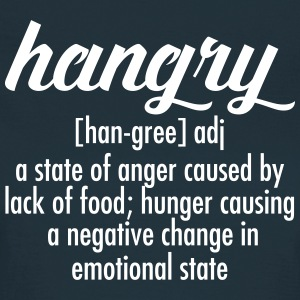 Hangry  Definition T-shirts - Dame-T-shirt