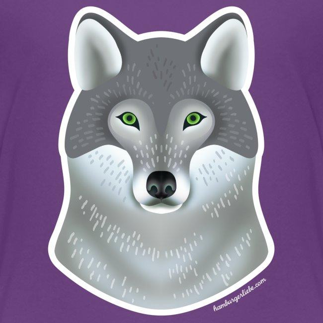 """""""Wild Wolf"""" Kinder T-Shirt"""