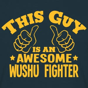 this guy is an awesome wushu fighter - Men's T-Shirt