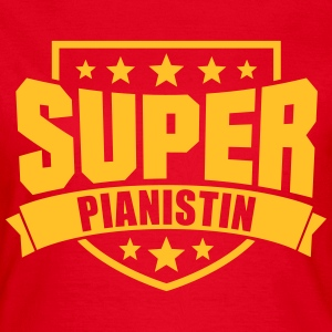 Super Pianistin T-Shirts - Frauen T-Shirt