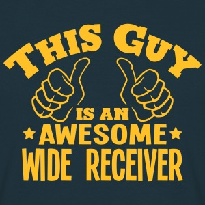 this guy is an awesome wide receiver - Men's T-Shirt