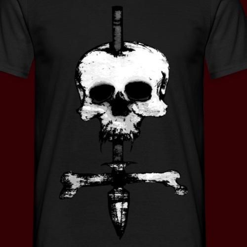 Skull Symbol B/W