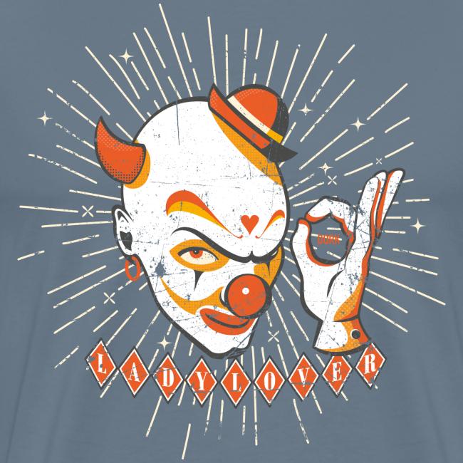 T-shirt LadyLover Clown