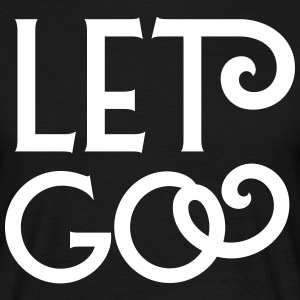 Let go T-shirts - Herre-T-shirt