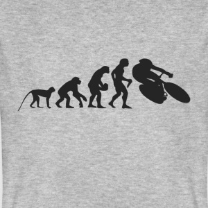 Evolution bike T-Shirts - Men's Organic T-shirt