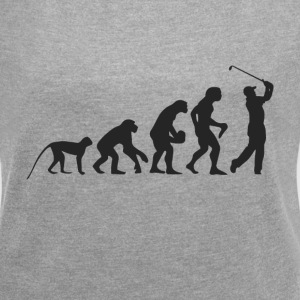 Evolution Golf T-shirts - Dame T-shirt med rulleærmer