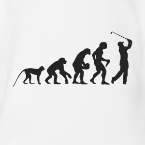 Evolution Golf Baby Bodys - Baby Bio-Kurzarm-Body