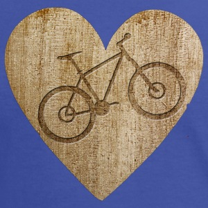 Love - Bike T-shirts - Vrouwen contrastshirt