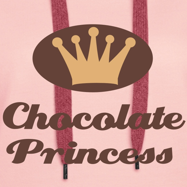 Kapuzenpullover Chocolate Princess