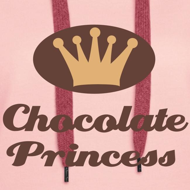 Kapuzenpullover Chocolate Princess