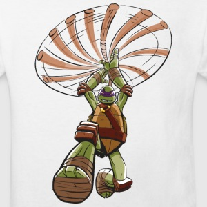TMNT Turtles Donatello Ready For Action - Organic børne shirt