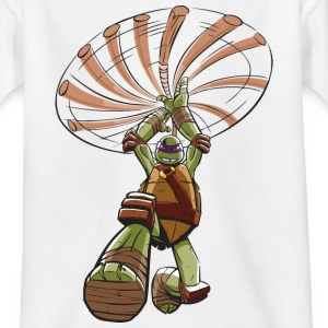 TMNT Turtles Donatello Ready For Action - Teenager T-shirt