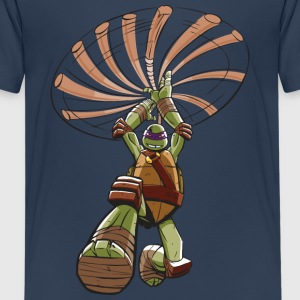 Tortues Ninja Raphael À L'Attaque - T-shirt Premium Ado