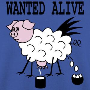 """Shirts mit Tier-Motiv """"Eierlegende Wollmilchsau"""""""