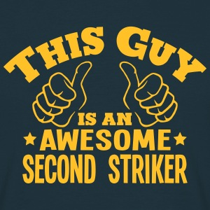 this guy is an awesome second striker - Men's T-Shirt