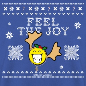 SmileyWorld Humour Feel The Joy Reindeer - Felpa da uomo