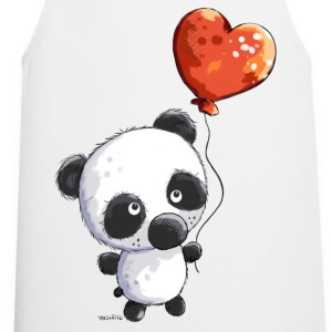 Panda with balloon  Aprons - Cooking Apron